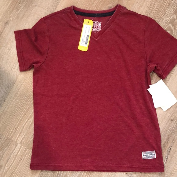 NWT Flag & Anthem Boys Size 10 Tee Red